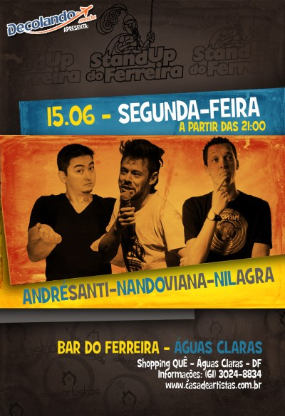 Stand Up Comedy. stand_up_ferreira