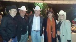Chico Piva, Dr. Wilfrido, Deputado Augusto Carvalho e esposa