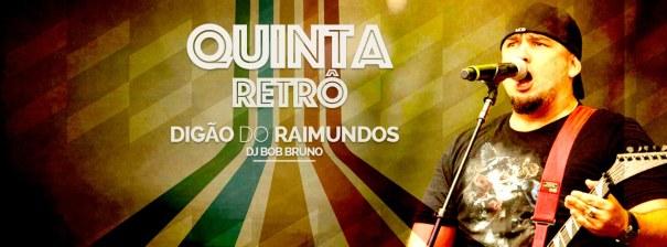Quinta-Retrô com Digão dos Raimundos