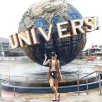 Angelica Ferrer no Universal Studios