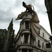 Dragão do filme Harry Potter