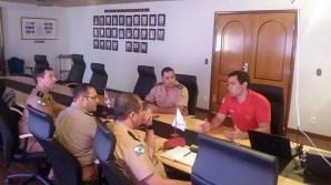 ASCOP / CBMDF recebe visita da Delegação de Bombeiros do Estado do Paraná - Foto: ASCOP / CBMDF