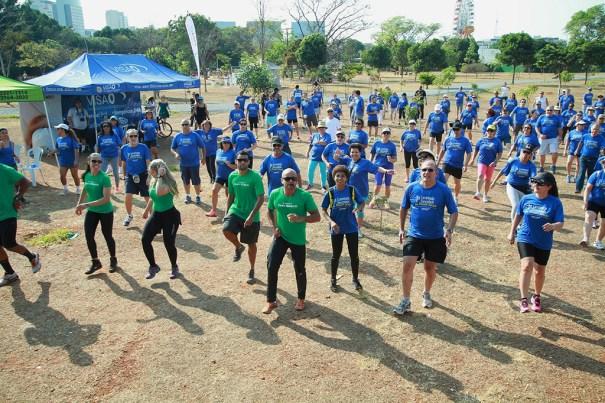 Bancorbrás promove caminhada para público acima de 50 anos no Parque da Cidade