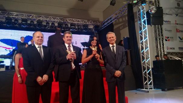 Grupo Paulo Octávio, ganhador do prêmio Colibri DF