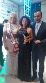 Miss Corretora ao lado da Ganhadora do Prêmio Colibri DF