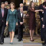 A elegância propia de uma rainha espanhola