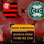 Preços para Flamengo x Coritiba, em Brasília, variam entre R$ 50 e R$ 200