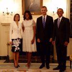 Os reis da Espanha em Washington DC
