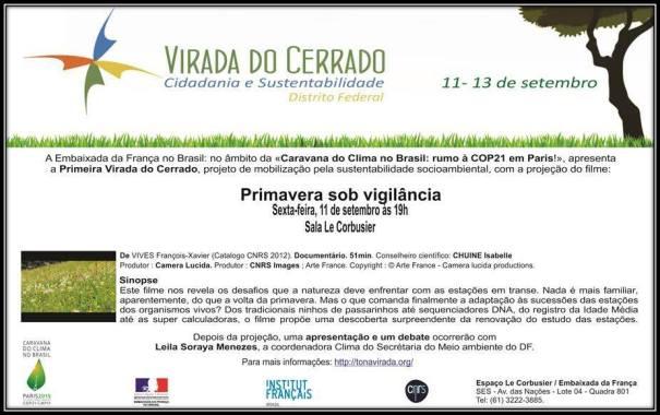 Embaixada da França exibe o filme Primavera sob Vigilância