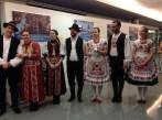 O grupo Pántlika foi responsável pela música e danças húngaras