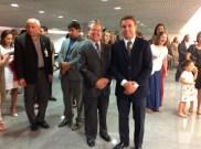 Embaixador da Hungria com Embaixador do Peru