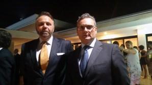 Embaixador da Polônia Andrzej Max e o adido Militar da Itália