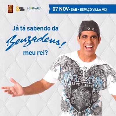 Durval Lelys retorna à Brasília com Benzadeus a festa