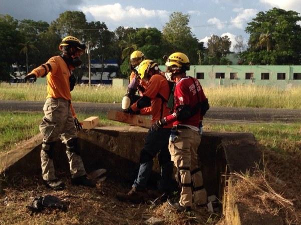 República Dominicana - Caribe - BREC - Busca e Resgate em Estruturas Colapsadas - Foto: CBMDF