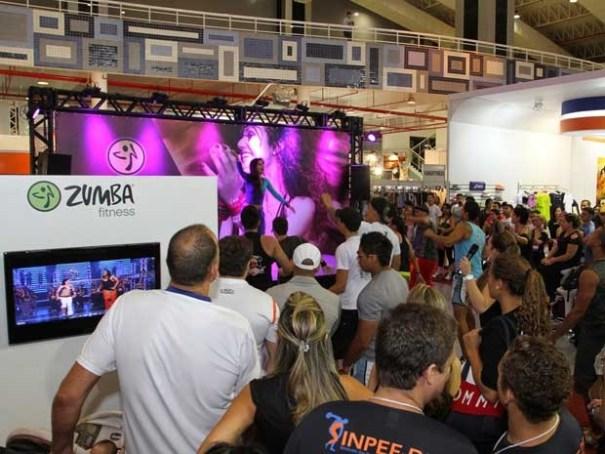 Maior feira de saúde e esporte, que acontece em Brasília até domingo (Foto: Tico Fonseca/Divulgação)