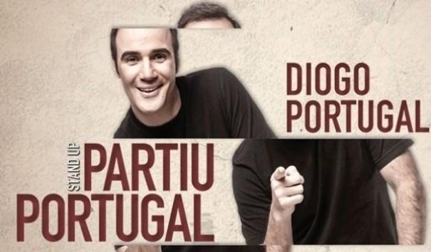 Diogo Portugal apresenta o Stand Up Partiu Portugal