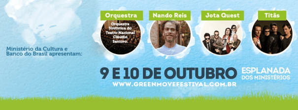 Instituto Bancorbrás, WWF e Greenpeace debatem o aquecimento global durante o Green Move Festival