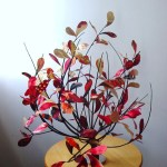 Arranjos de flores naturais são destaque da Mostra de Artesanato