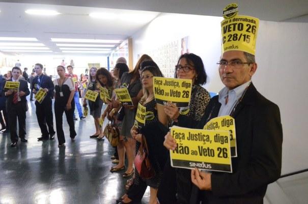 Congresso deve votar nesta semana veto a reajuste do Judiciário - Foto: Senado