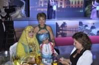 Sra Embaixatriz de Omã e seu Filho, Embaixatriz do Líbano e a Jornalista Luzia Câmara