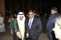 S.E. Sr. Embaixador do Kuwait, Ayadah Mubrad Alsaidi, Carlos Viera Jr, Chefe do Cerimonial da CLDF