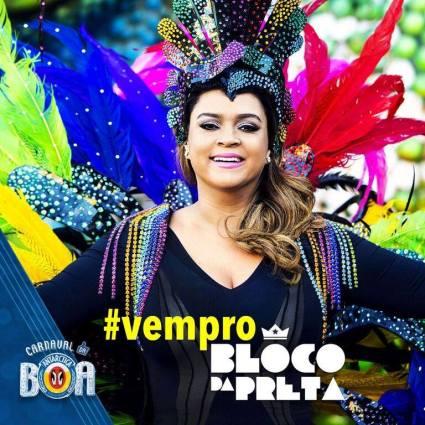 Bloco da Preta encerra o Carnaval de Brasília