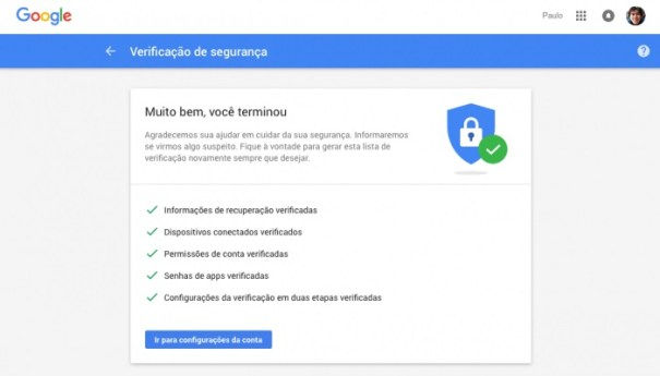 Google está dando 2 GB de espaço grátis para quem completar esta verificação de segurança
