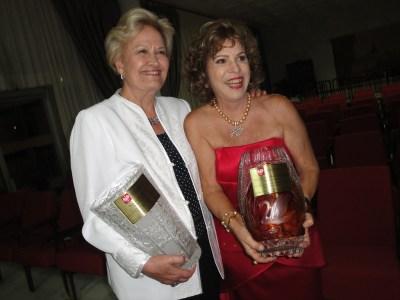 Professora Closete Gebrim e a Senadora Ana Amélia