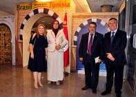 Sra Sônia Bachtobji, Sra. Samira Ayad Khalifa Elmaskhut, S.E Sr. Khaled Zayed Ramadan Dahan, Sabri Bachtobji