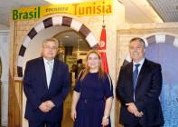 S.E. Sr. Embaixador da Turquia, Huseyin Dirioz, Embaixatriz da Tunísia, Sônia Bachtobji, Embaixador da Tunísia, Sabri Bachtobji