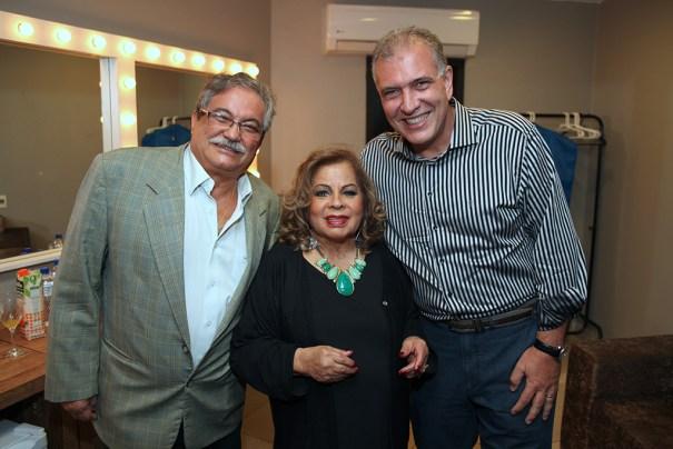 José Nava, Ângela Maria e Carlos Eduardo Pereira. Crédito: Cidu Okubo