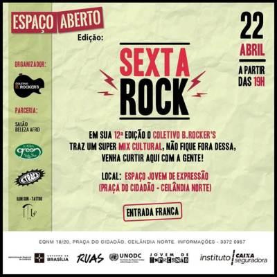 12ª Edição do Sexta Rock