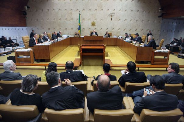 Impeachment. Supremo Tribunal Federal (STF) durante sessão plenária de julgamentos (Nelson Jr/STF)