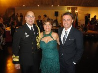 ADIDO MILITAR CAPITÃO Real Brisson, Luzia Câmara, S.E. Sr Norbert Konkoly, Embaixador da Hungria
