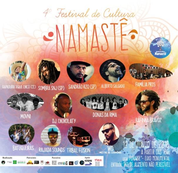 Quarta Edição do Festival de Cultura Namastê na Funarte