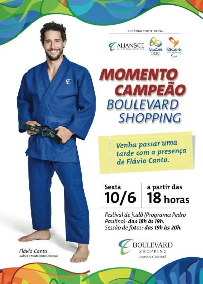 Flávio Canto dará aula gratuita para pequenos alunos de Brasília