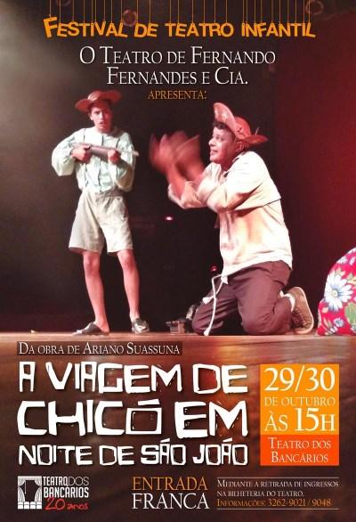 A Viagem de Chicó em Noite de São João retorna ao Teatro dos Bancários