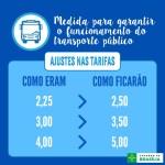 Passagens de ônibus e de metrô serão reajustadas na segunda-feira (02/01)