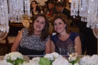 Embaixatriz do Egito, Sra. Alya A. M. Elwakeel, e a Embaixatriz do Líbano, Sra. Sanna D. Tabara