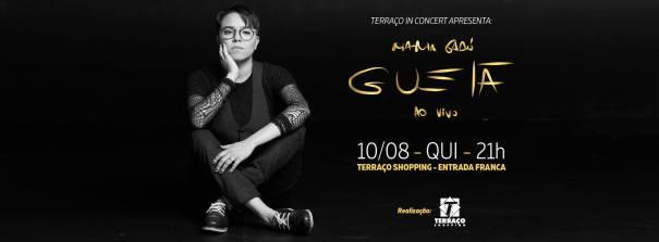 Maria Gadú se apresenta no Terraço in Concert em Brasília