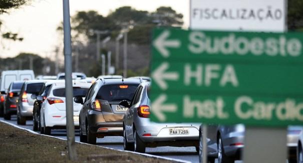 O Governo do Distrito Federal (GDF) se prepara para lançar a licitação para construção do viaduto da Estrada Parque Indústrias Gráficas (Epig). Foto: Joel Rodrigues/Agência Brasília