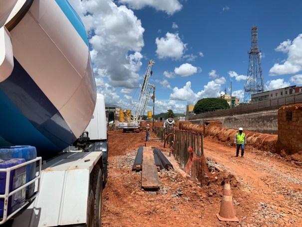 Dois trechos de via serão interditados em Taguatinga para obras do túnel - Fonte: Agência Brasília/GDF