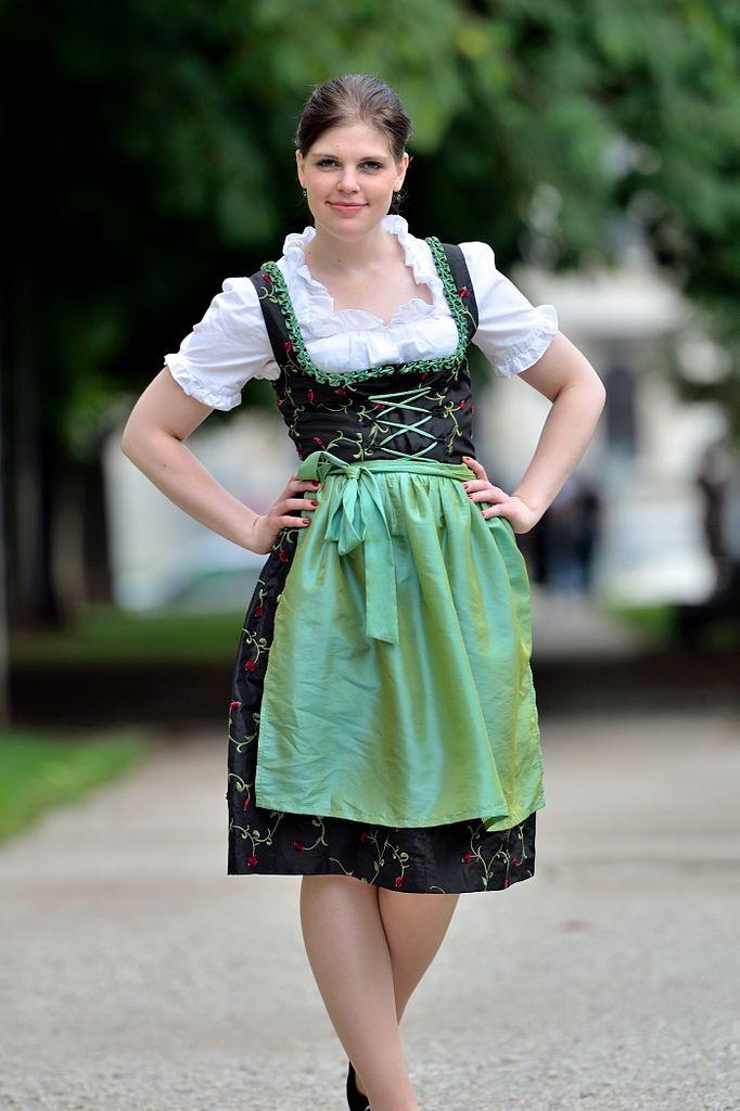 Ropa tradicional alemana traje tpico  Guia de Alemania