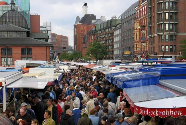Fischmarkt, Hamburgo