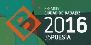 premio ciudad badajoz poesia 2016
