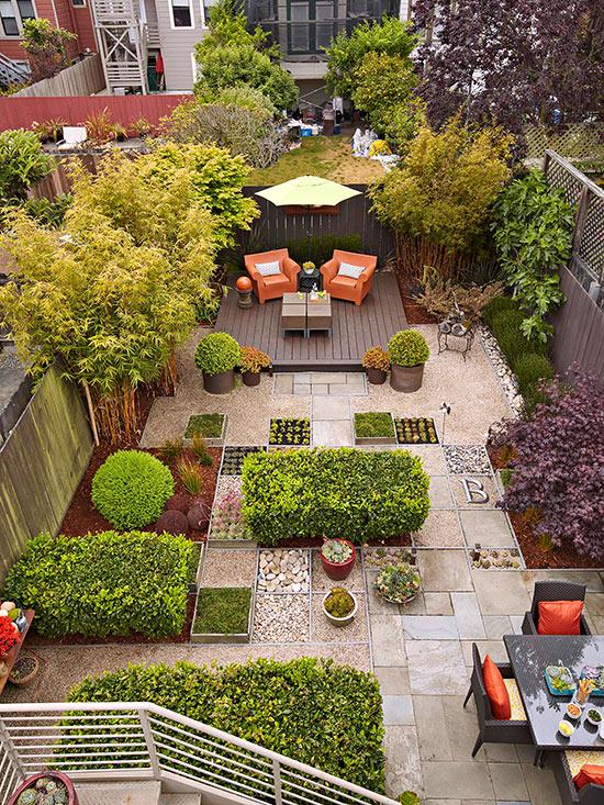 7 idee intelligenti per realizzare un giardino senza manto erboso ...