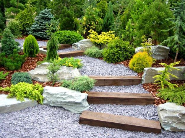 Super 10 idee per decorare il giardino con la pietra | Guida Giardino AJ57