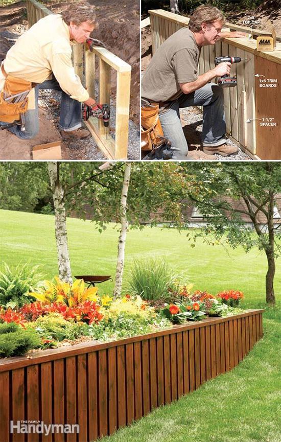 7 Idee Per Realizzare Pareti Di Sostegno Nel Giardino Guida Giardino