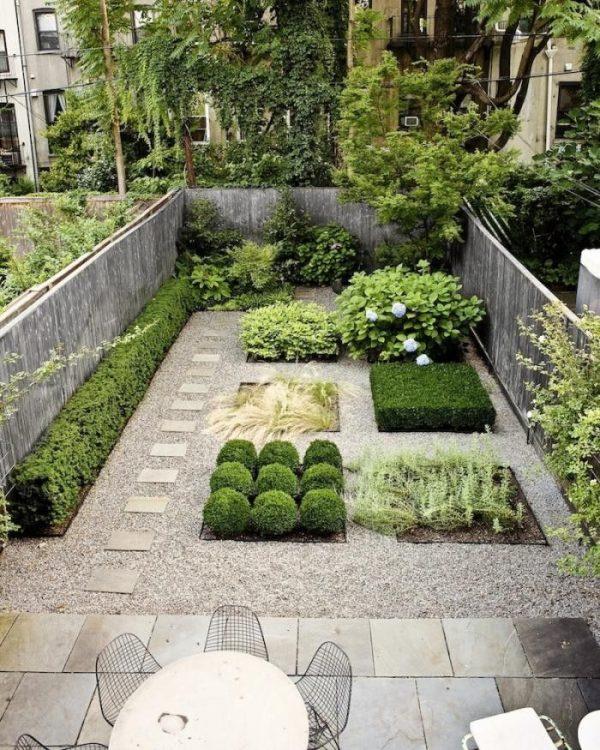 Famoso 12 suggerimenti per far apparire più grande un piccolo giardino  JT19