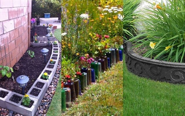 10 ideas creativas para los bordes de jardn